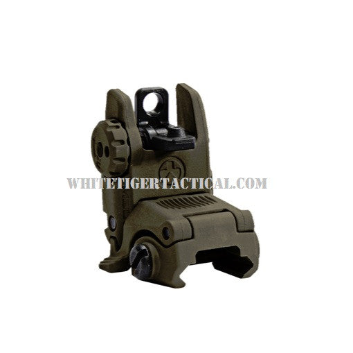 Magpul MAG248-ODG MBUS Rear Back-Up Flip-Up Sight GEN 2 OD Green MAG248