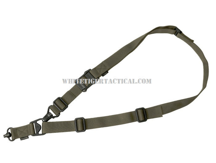 Magpul MAG515-RGR MS3 Single QD Gen 2 Multi-Mission Single Point / 2 Point Sling with Quick Detach Nylon Ranger Green MAG515