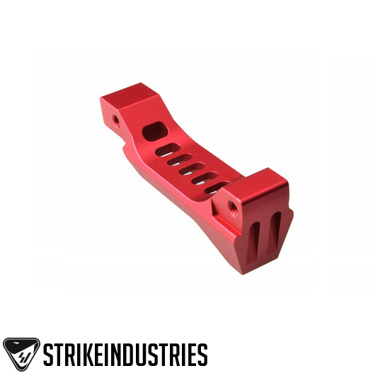 Strike Industries FANG Magwell Reload Assist Trigger Guard SI-BTG-FANG-RED Red Billet Aluminum AR15 M4 M16