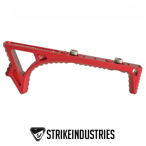 Strike Industries SI LINK Curved Fore Grip Foregrip KeyMod & M-LOK Red SI-LINK-CFG-RED