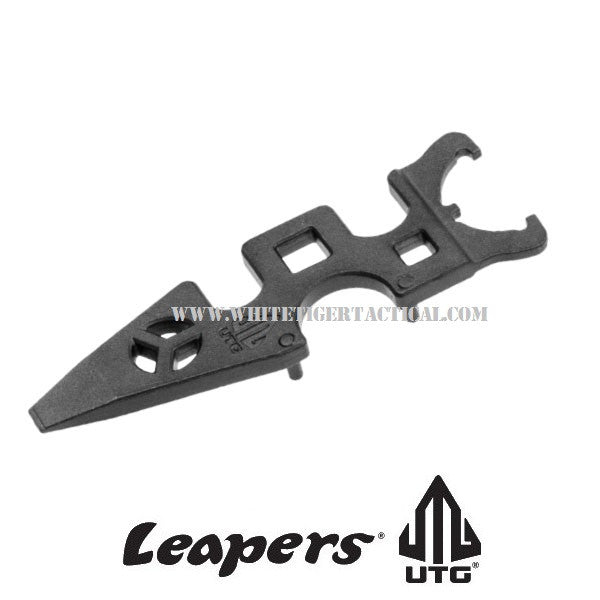 UTG Leapers TL-ARWR02 Mini AR Armorer's Multi-Function Combo Wrench Tool Steel Black AR-15 M4 ***Lifetime Warranty***