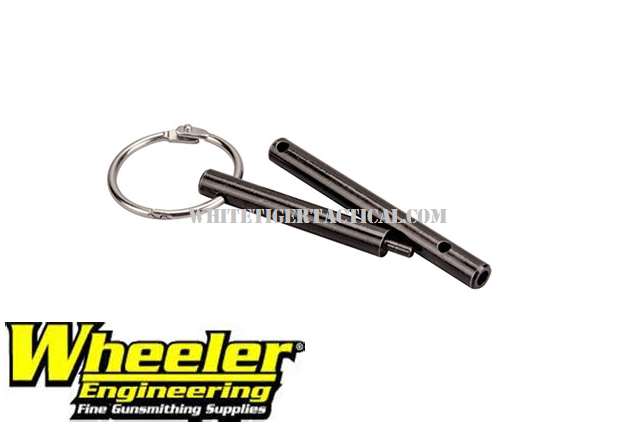 Wheeler Engineering Delta Series Pivot Pin Detent and Roll Pin Installation Tool AR-15 Steel 156243