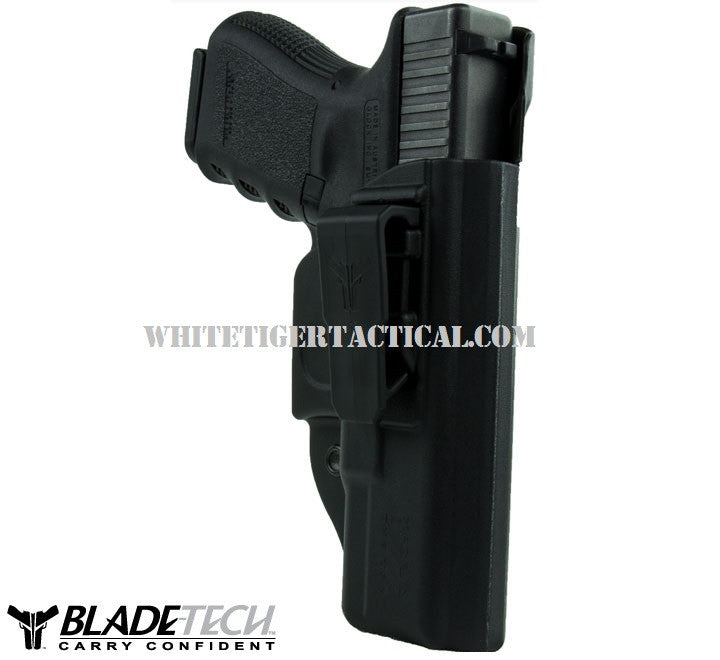 Blade-Tech Klipt Holster Glock 43 9mm Right Hand RH IWB Inside the Waistband Appendix