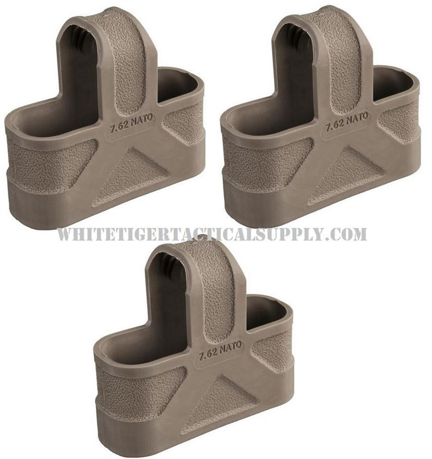 Magpul MAG002-FDE The original MAGPUL Mag Pull Assist Tab .308 7.62 NATO 3 pack Flat Dark Earth MAG002