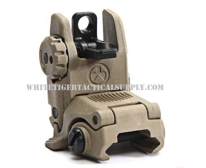 Magpul MAG248-FDE MBUS Rear Back-Up Flip-Up Sight GEN 2 Flat Dark Earth MAG248