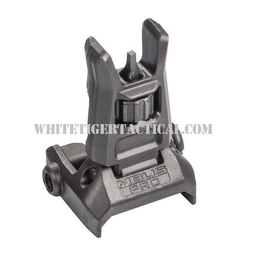 Magpul MAG275-BLK MBUS Pro Front Back-Up Flip-Up Sight Steel Black MAG275