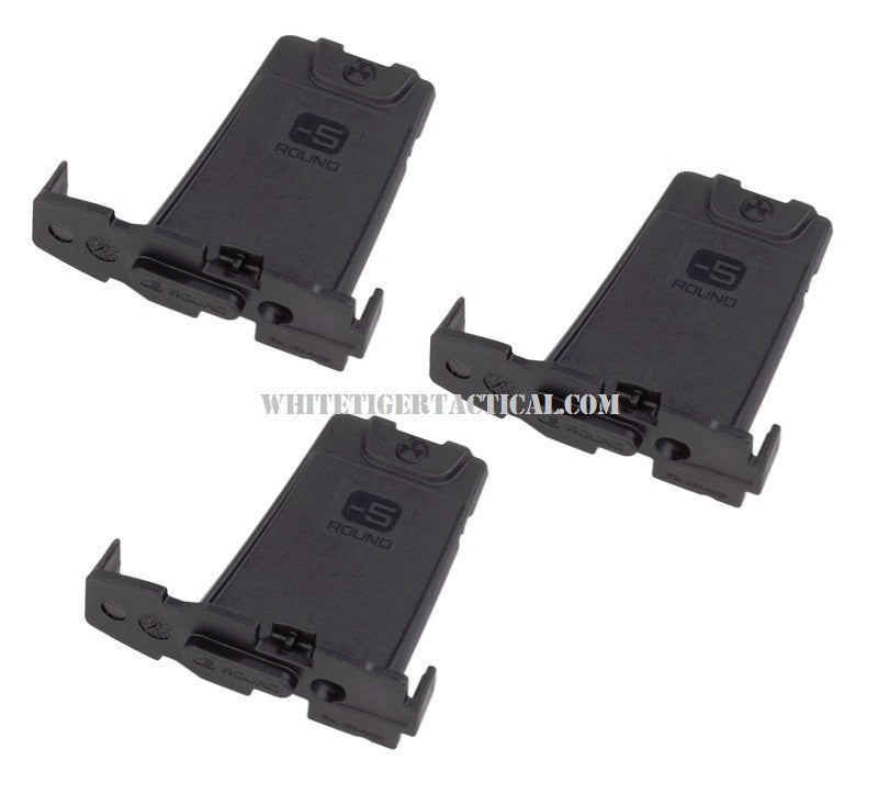 Magpul MAG285-BLK Minus 5-Round Limiter for Gen M3 PMAG .223 / 5.56 AR15 M4 3 pack MAG285