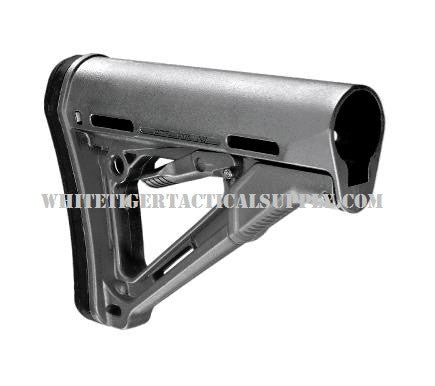 Magpul MAG311-GRY CTR (Compact/Type Restricted) Commercial Spec Model - Stealth Gray MAG311