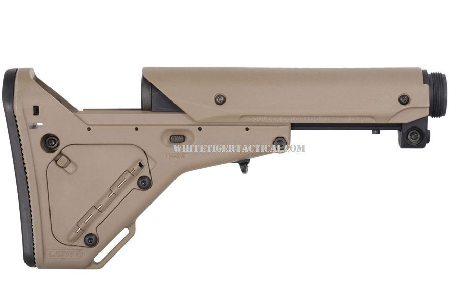 Magpul MAG330-FDE UBR Utility Battle Rifle Stock 7-Position Collapsible AR15/M16 Flat Dark Earth MAG330