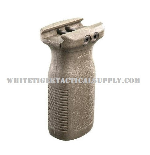 "Magpul MAG412-FDE RVG Rail Vertical Forend Grip 1913 Picatinny Flat Dark Earth OAL 3.5"" MAG412"