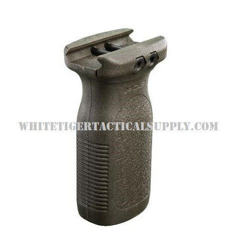 "Magpul MAG412-ODG RVG Rail Vertical Forend Grip 1913 Picatinny OD Green OAL 3.5"" MAG412"