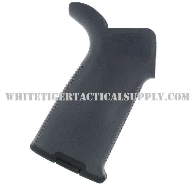 Magpul MAG416-GRY MOE+ Plus Rubber Overmold Rear Pistol Grip AR15 M4 Stealth Gray MAG416