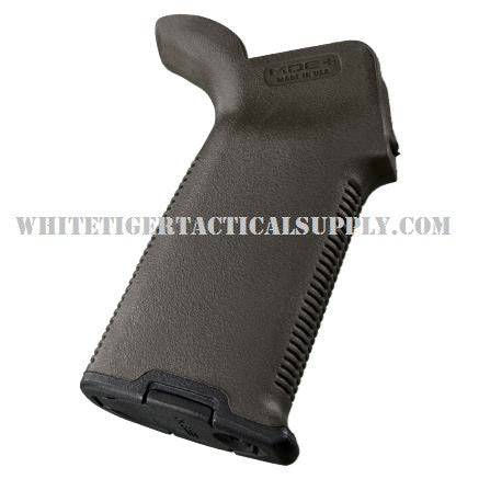 Magpul MAG416-ODG MOE+ Plus Rubber Overmold Rear Pistol Grip AR15 M4 OD Green MAG416
