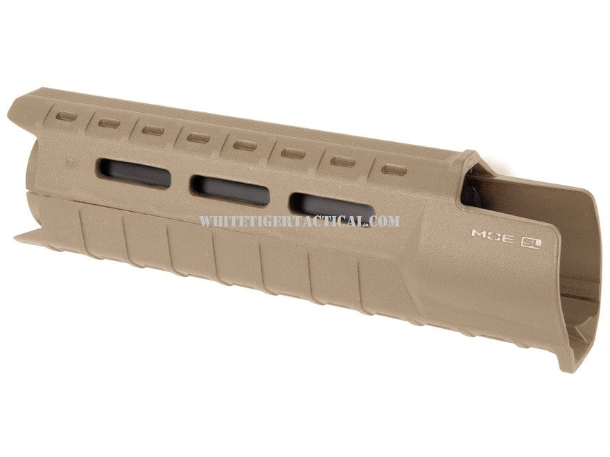 Magpul MAG538-FDE MOE M-LOK SL Slim Line Hand Guard 2pc Drop-In Carbine Length Flat Dark Earth MAG538 AR15 M4