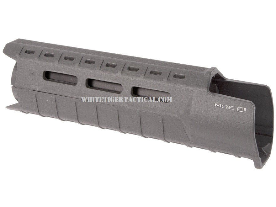 Magpul MAG538-GRY MOE M-LOK SL Slim Line Hand Guard 2pc Drop-In Carbine Length Stealth Gray MAG538 AR15 M4