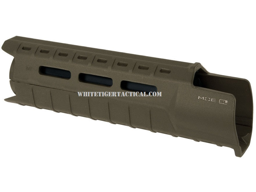 Magpul MAG538-ODG MOE M-LOK SL Slim Line Hand Guard 2pc Drop-In Carbine Length OD Green MAG538 AR15 M4