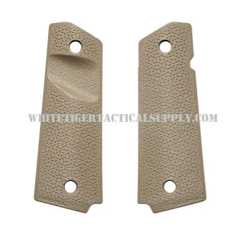 Magpul MAG544-FDE MOE 1911 Grip Panels with TSP Texture Flat Dark Earth MAG544