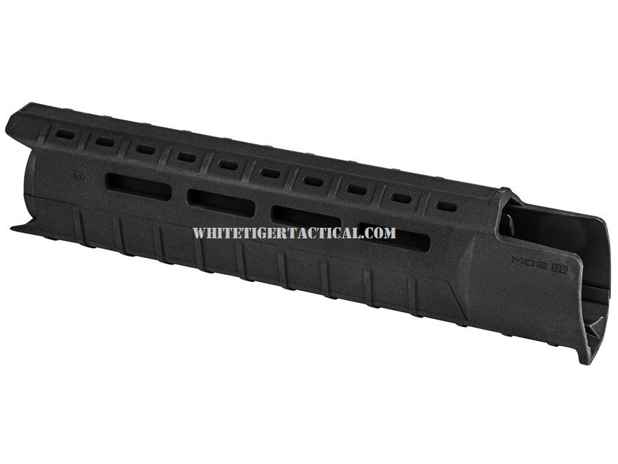 Magpul MAG551-BLK MOE M-LOK SL Slim Line Hand Guard 2pc Drop-In Mid-Length Black MAG551 AR15 M4