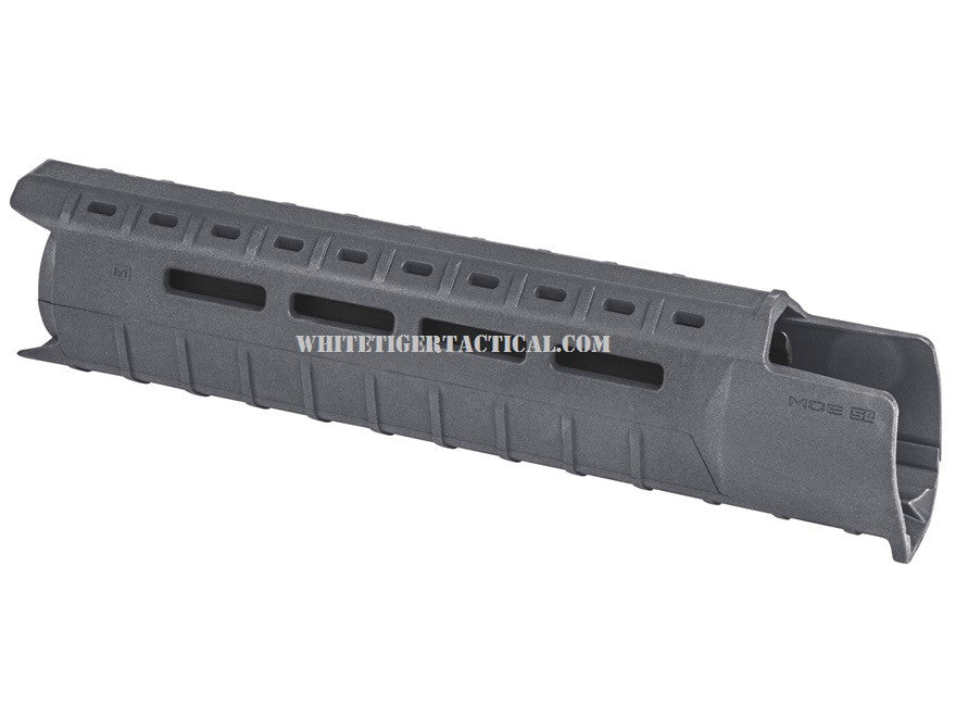Magpul MAG551-GRY MOE M-LOK SL Slim Line Hand Guard 2pc Drop-In Mid-Length Stealth Gray MAG551 AR15 M4