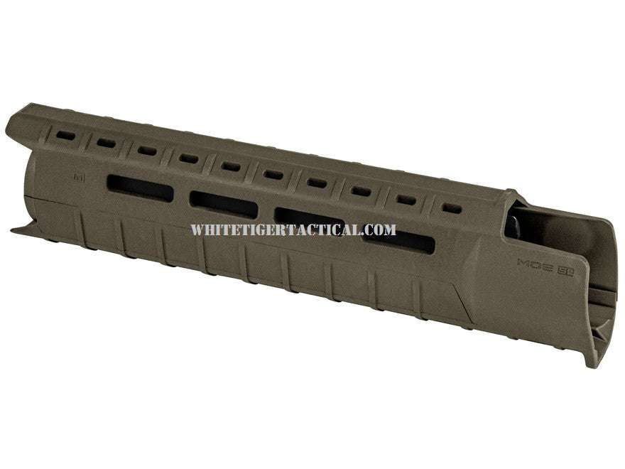 Magpul MAG551-ODG MOE M-LOK SL Slim Line Hand Guard 2pc Drop-In Mid-Length OD Green MAG551 AR15 M4