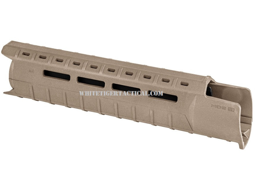 Magpul MAG551-FDE MOE M-LOK SL Slim Line Hand Guard 2pc Drop-In Mid-Length Flat Dark Earth MAG551 AR15 M4
