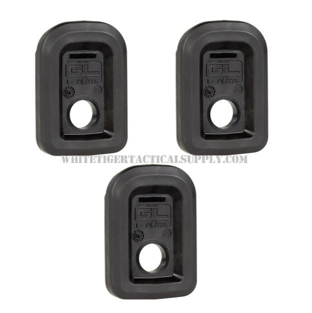 Magpul MAG567-BLK GL L-Plate Floorplate for Glock GL9 PMAG 17 & 19 Magazines 3 Pack MAG567