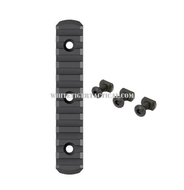 "Magpul MAG593-BLK M-LOK Polymer Rail Section 11 Slot 4.9"" OAL Black MAG593"