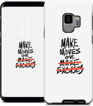 'Make Moves' Samsung Case - White