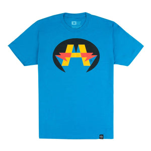 'Hero' Logo T-Shirt - Blue