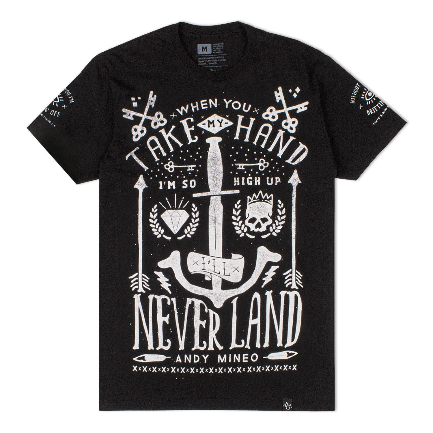 'So High Up I'll Never Land' T-Shirt