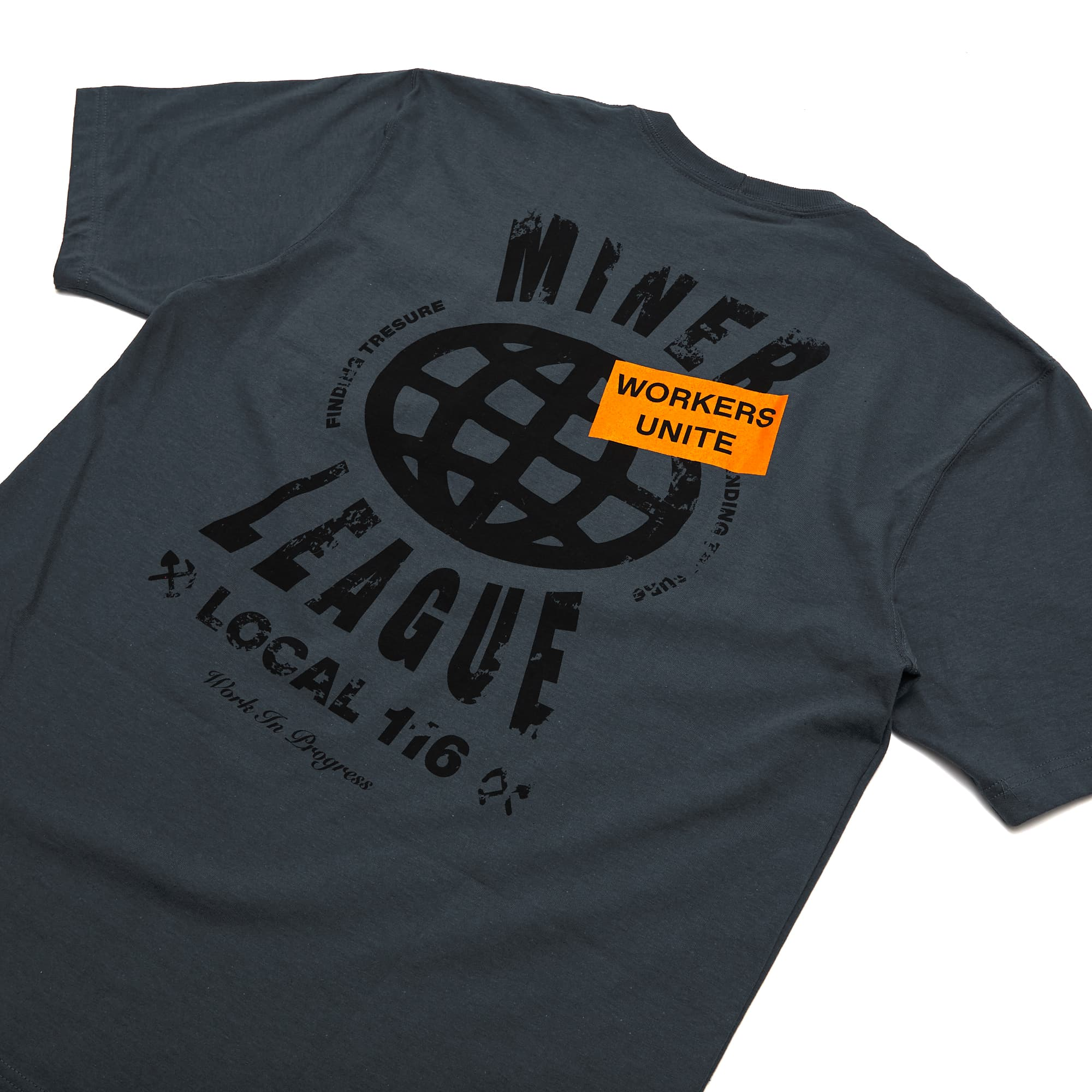 Andy Mineo x Carhartt 'Workers Unite' Tee + 'Work In Progress' MP3 Digital Download