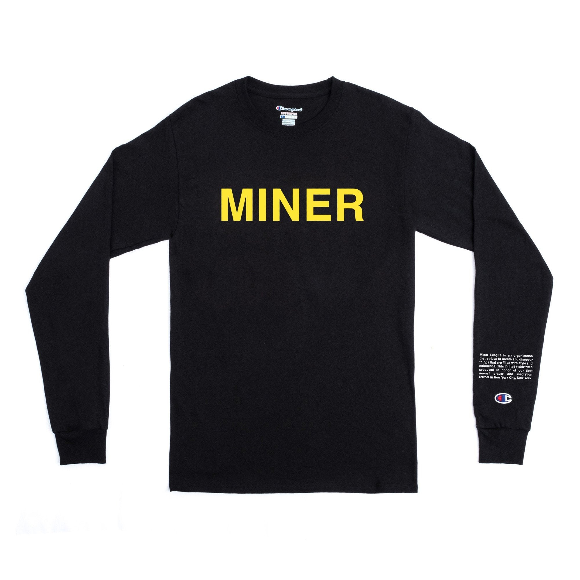 Andy Mineo x Champion 'Code' Long Sleeve