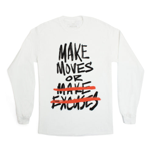 'Make Moves' Long Sleeve Tee