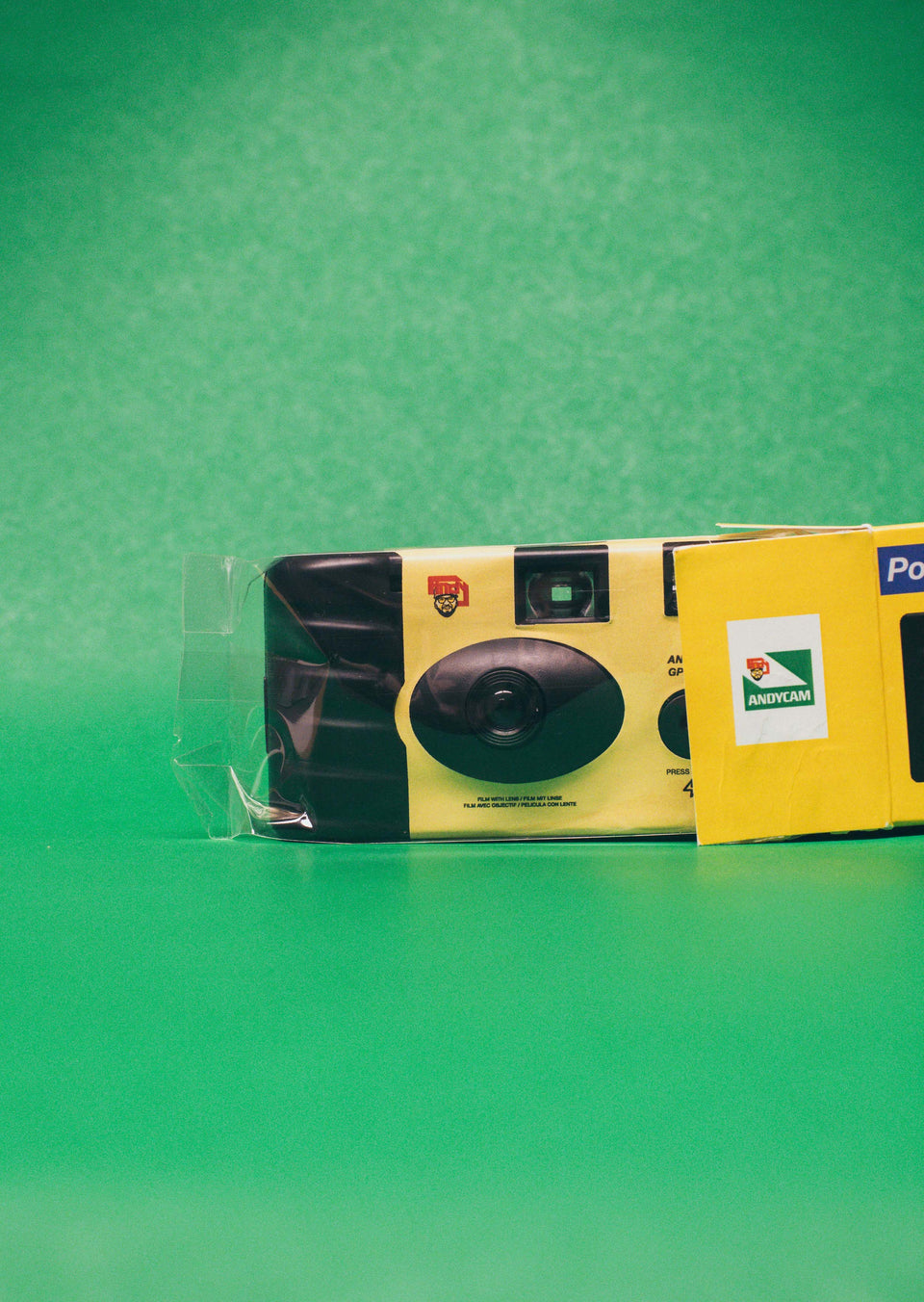 Official Andy Mineo Disposable Camera