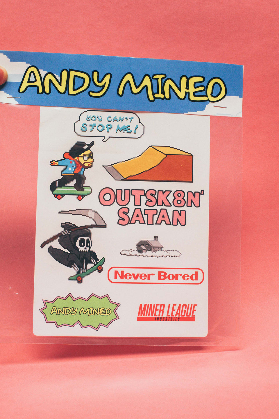 Andy Laptop Sticker/Poster Pack