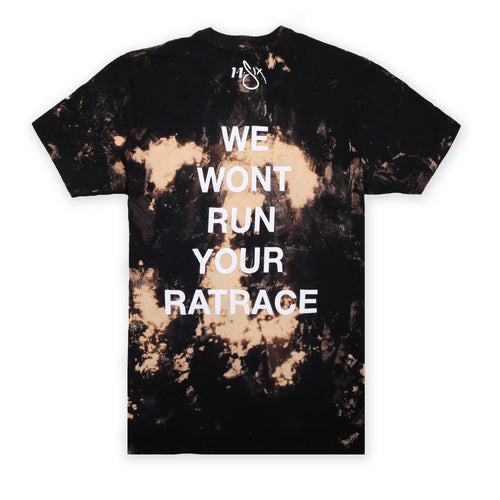 'Rat Race' Bleach T-Shirt