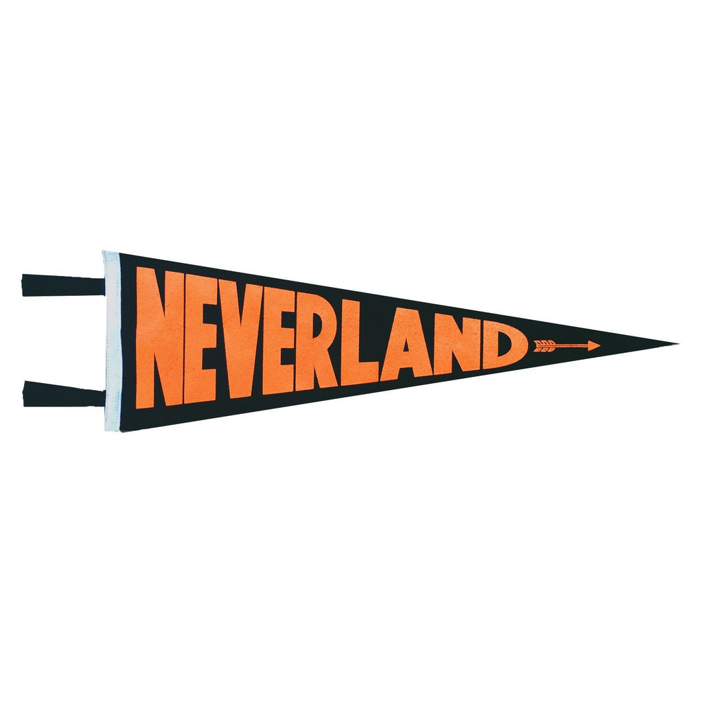 'Never Land' Pennant