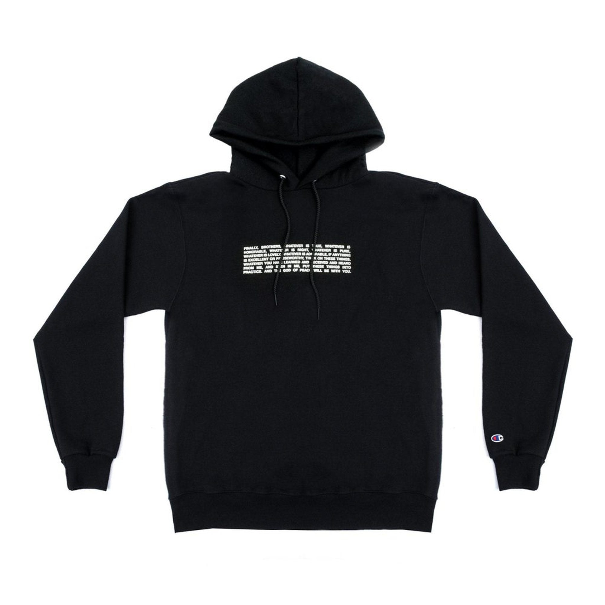 Andy Mineo x Champion 'Code' Pull Over Hoodie