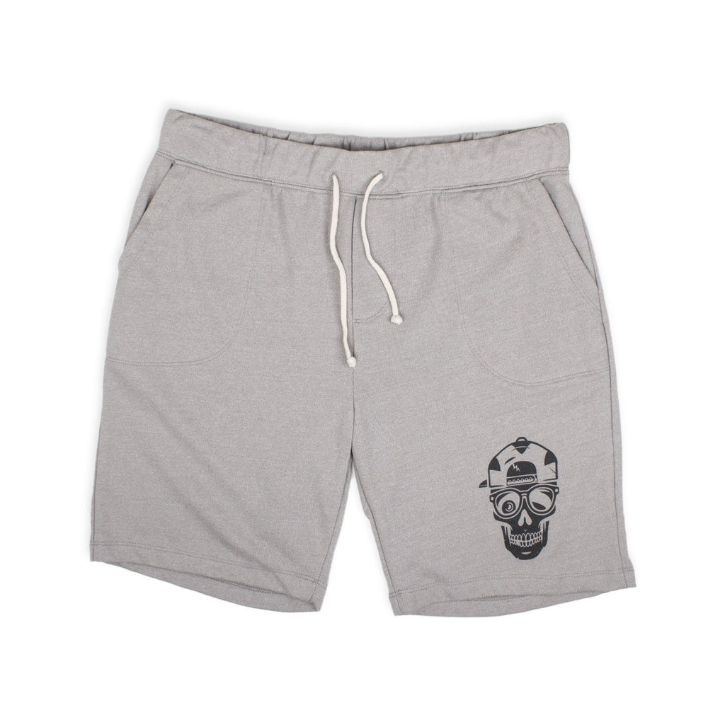 'Skull' Triple Double Shorts