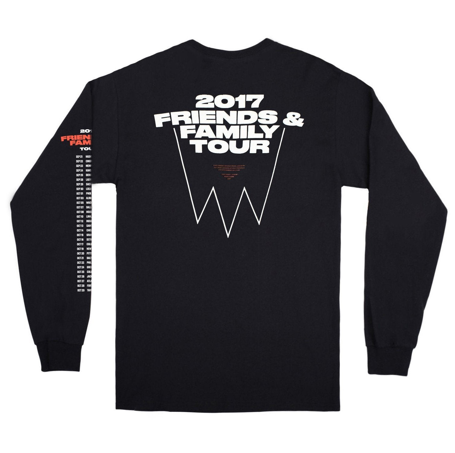 Andy Mineo 2017 Tour Long Sleeve Tee