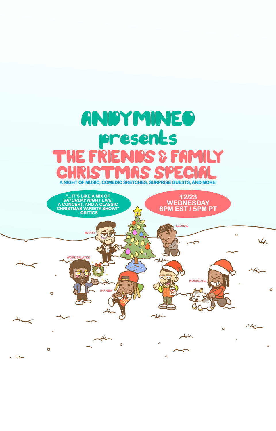 2020 F&F Christmas Special [E-TICKET]