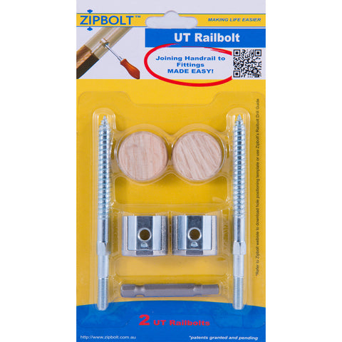 Zipbolt UT Railbolt 13.610 (2 Pieces)
