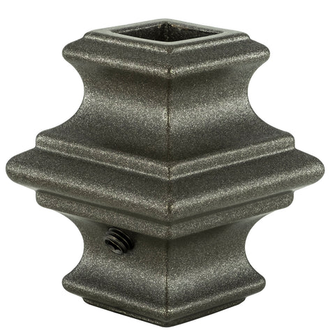 "Baluster Shoe - Square 1/2"" - Knuckle w/ Screws - KN500"