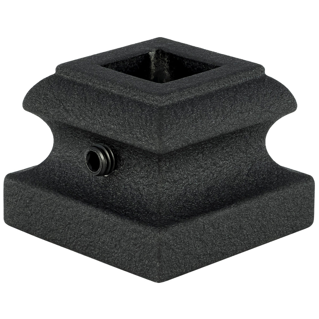 "Baluster Shoe - Square 1/2"" - Flat Shoe w/ Screw - SH900"