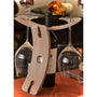 Napa Wine Bottle Caddy Wine Glass Holder