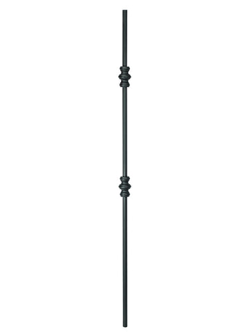 "Iron Baluster - 5/8"" Round (Plain - Double Knuckle) 2GR61"
