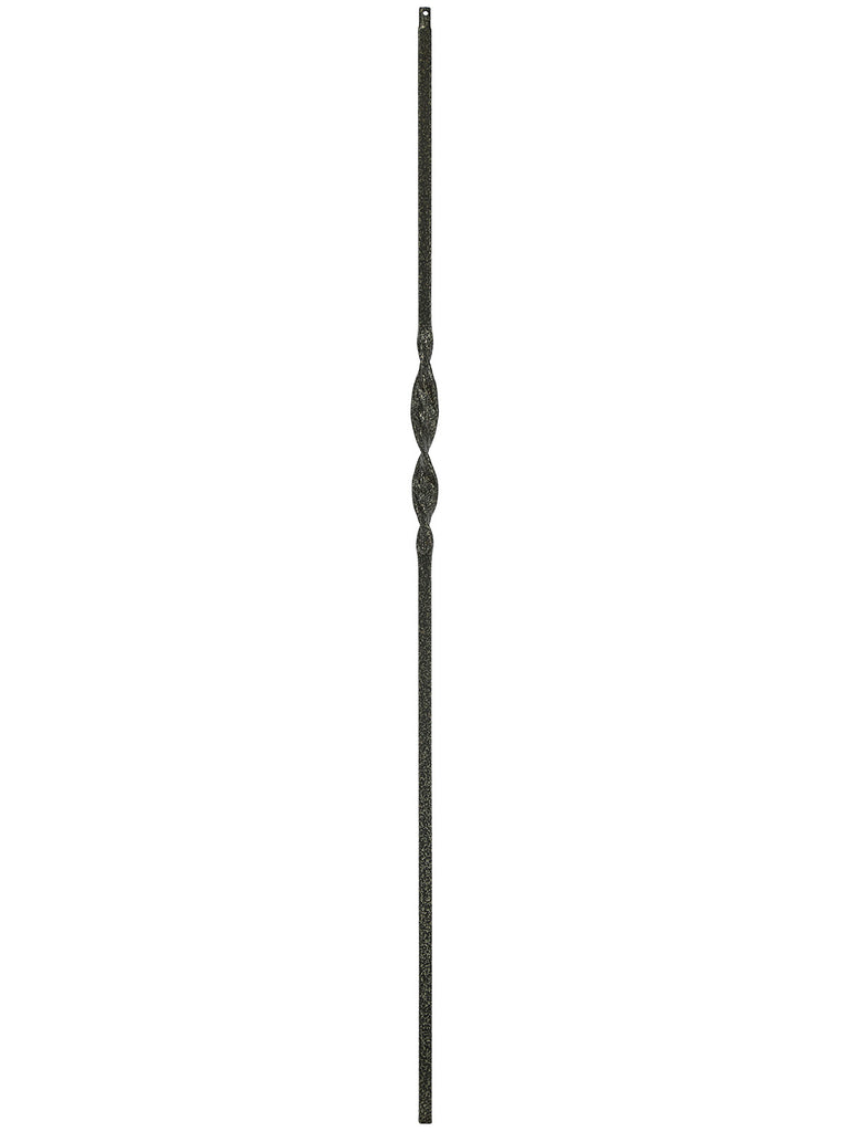 "Iron Baluster - 1/2"" Square (Ribbon - Single Ribbon) T06"