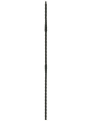 "Iron Baluster - 1/2"" Square (Taos - Split Arrows) T22"