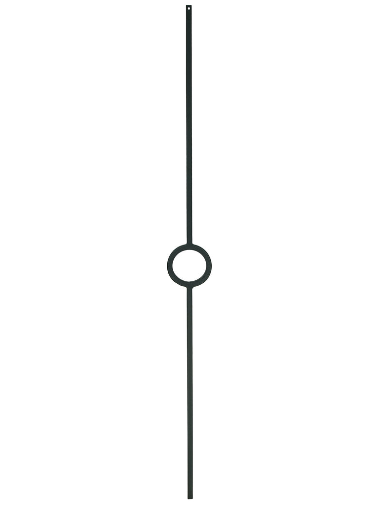 "Iron Baluster - 1/2"" Square (Contemporary - Single Circle) T72"