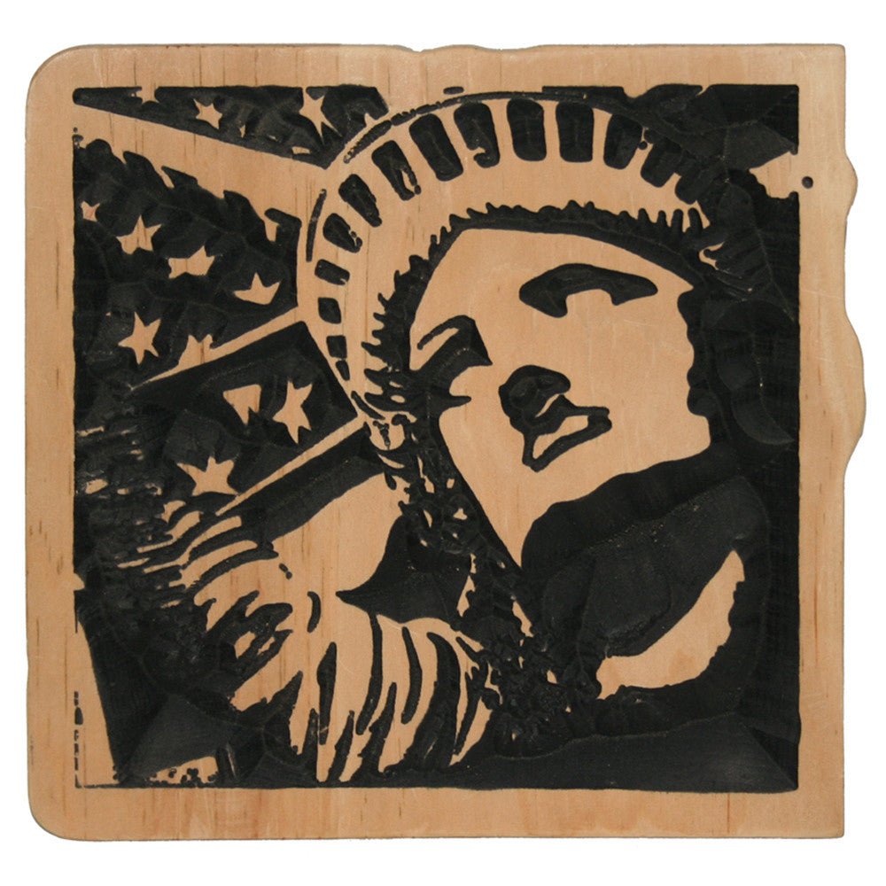 Statue of Liberty Carving